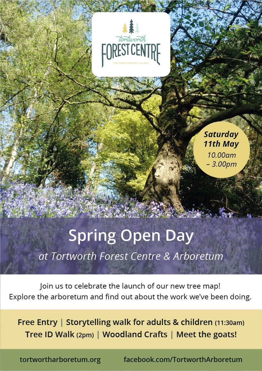 Flyer for our Spring 2019 Open Day on 11th may